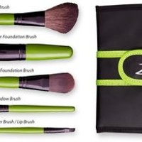 Zuii Organic make-up 5 brush set + Free shipping!