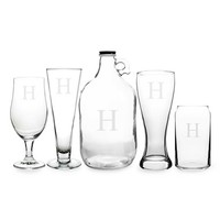 Cathy's Concepts Personalized Craft Beer Set - White (Set of 5)