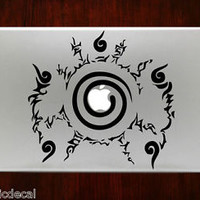Naruto Seal Symbol emblem Logo Mac Decals Stickers For Macbook 13 Pro Air Decal