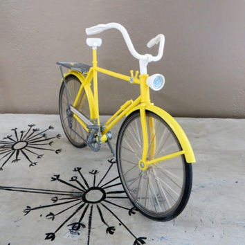 Vintage Yellow Barbie Bike Vintage Doll Bike Bicycle