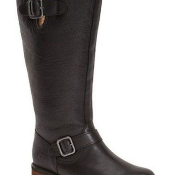 CHEN1ER Women's UGG?Australia 'Chancery' Water Resistant Boot,