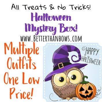 RTS Halloween Mystery Boxes! 2 Choices 1 Low Price!