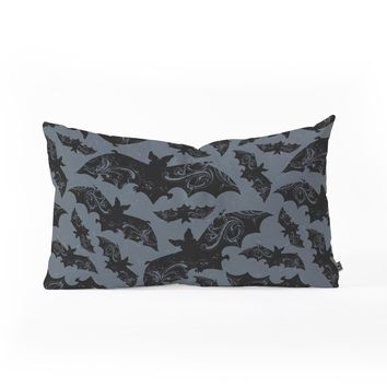 Heather Dutton Night Flight Oblong Throw Pillow