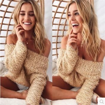 Sweater кофта жен пуловер sweater pullover women