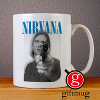 Nirvana Kurt Cobain Ceramic Coffee Mugs
