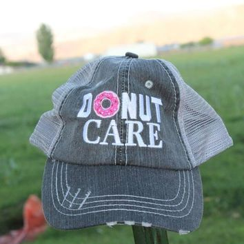 Donut Care Hat