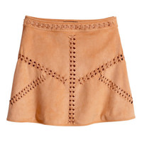 H&M Imitation Suede Skirt $59.95
