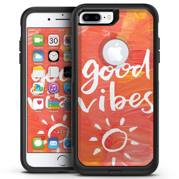 Good Vibes - iPhone 7 or 7 Plus Commuter Case Skin Kit