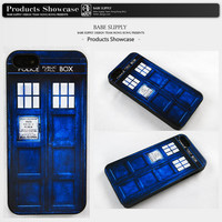 Doctor Who Tardis - iphone 5 case, iphone 4 case, Police Box iphone 4s case, hard plastic case