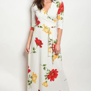 Kinsley Floral Maxi Dress