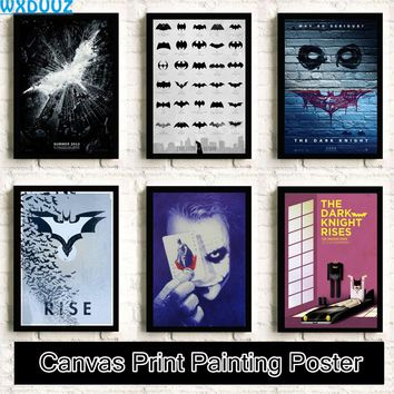 Batman clown Movie Reying quality HD Painting Art Decor Home Decor living posters wall art canvas painting No Frame K16