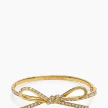 skinny mini pave bow bangle - kate spade new york