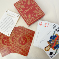vintage playing cards full deck French Napoleon Grimaud