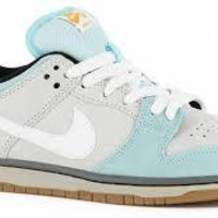 Nike Dunk Low Pro SB-Glacier/White Light Ash Gray