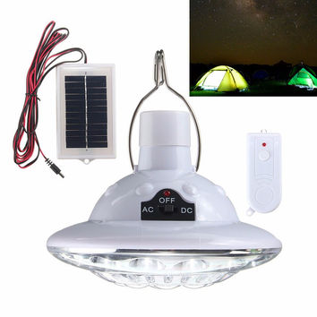 LED Solar Powered Hanging Lamp With Remote