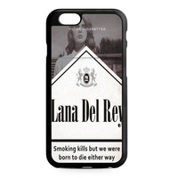 lana del rey cover cigarete iPhone 6 Case
