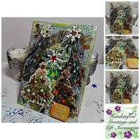 Deck the Halls Mixed Media Canvas Board.