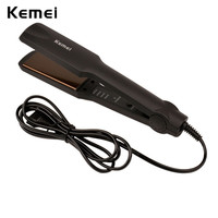 Mini Electronic Black Ceramic Straightening Irons Curling Flat Iron Professional Hair Straightener Curls Salon Stying Tools
