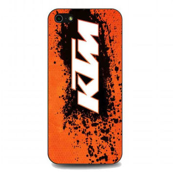 ktm logo For iphone 5 and 5s case