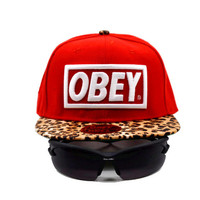 Perfect Obey Giant Women Men Sports Sun Hat Hip Hop Embroidery Baseball Cap Hat