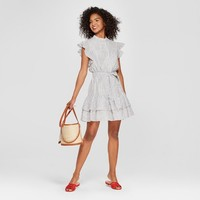 Women's Ruffle Mini Shirt Dress - Who What Wear™