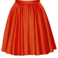 Tomato Wool Flippy Skirt By Boutique