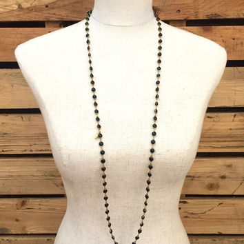 Betsy Pittard Designs- Brittany Necklace- Black