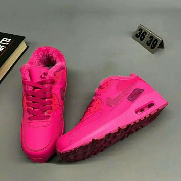 NIKE AIR MAX 90 Women Men Casual Running Sport Thick Shoes Sneakers G-MPYDX-2