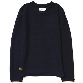 Avant / Sweater. Wool Navy