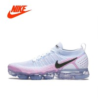 Original New Arrival Authentic NIKE AIR VAPORMAX FLYKNIT 2 Women's Running Shoes Sport Outdoor Sneakers Good Quality 942843-102