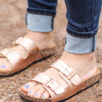 BIRK INSPIRED DOUBLE STRAPPED SANDALS
