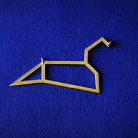 Leo Pendant by Noet_by_Isis on Shapeways