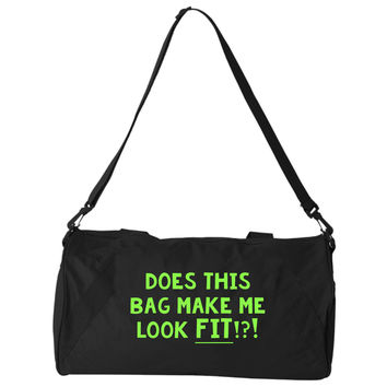 Does This Bag Make Me Look Fit Black Bag