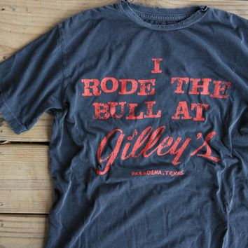 i rode the bull tee at gilley's tee