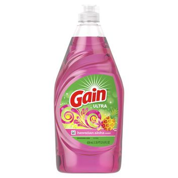 Gain Ultra Dishwashing Liquid Dish Soap, Hawaiian Aloha, 21.6 fl oz - Walmart.com