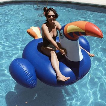 Unique Giant Inflatable Toucan Pool Float