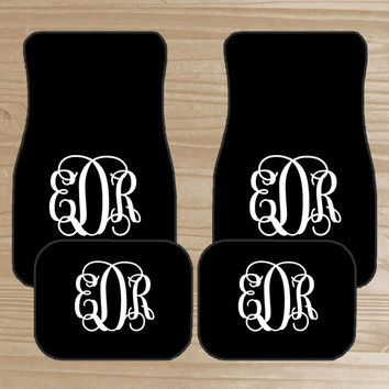 Monogrammed Floor Mats >> Best Colorful Car Mats Products On Wanelo