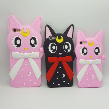 Sailor Moon Inspired Cute Kawaii Phone Case for iPhone