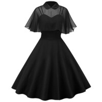 The Black Widow Dress