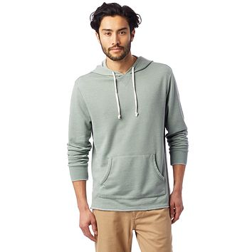 Alternative Apparel - School Yard Burnout French Terry Agave Green Hoodie