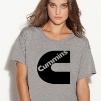 Cummins Dodge boxy ladies tshirt