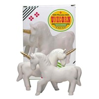 Porcelain Unicorn Salt & Pepper Set
