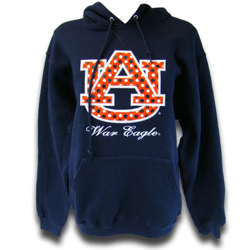 Hoodie, Polka Dot Au | Auburn University Bookstore