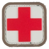 "Mil-Spec Monkey Medic Square 1"" PVC Patch @ TacticalGear.com"