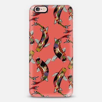 koi radiance coral iPhone 6s case by Sharon Turner | Casetify