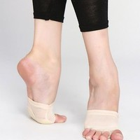 Ballet Dance Paws Foot Thong Protection Dance Socks 5 Holes