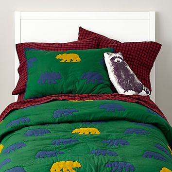 Grizzly Bedding in All Kids Bedding | The Land of Nod