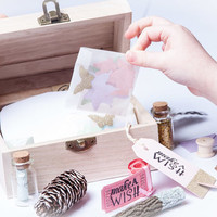 make a wish fairy chest by with love crafts & tutus | notonthehighstreet.com