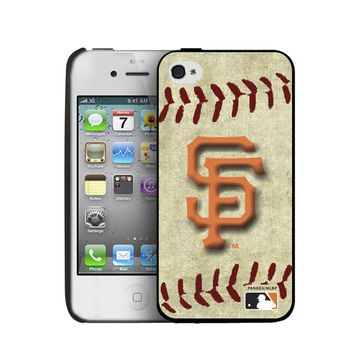 Keyscape Pangea Brand Iphone 4 or 4S Hard Cover Case Vintage San Francisco Giants