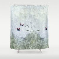 A Spell For Creation Shower Curtain by Anipani